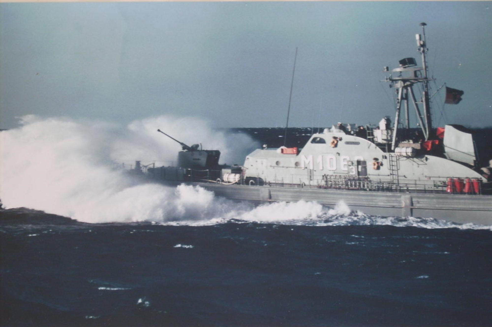 Minensuchboot Waage M1063